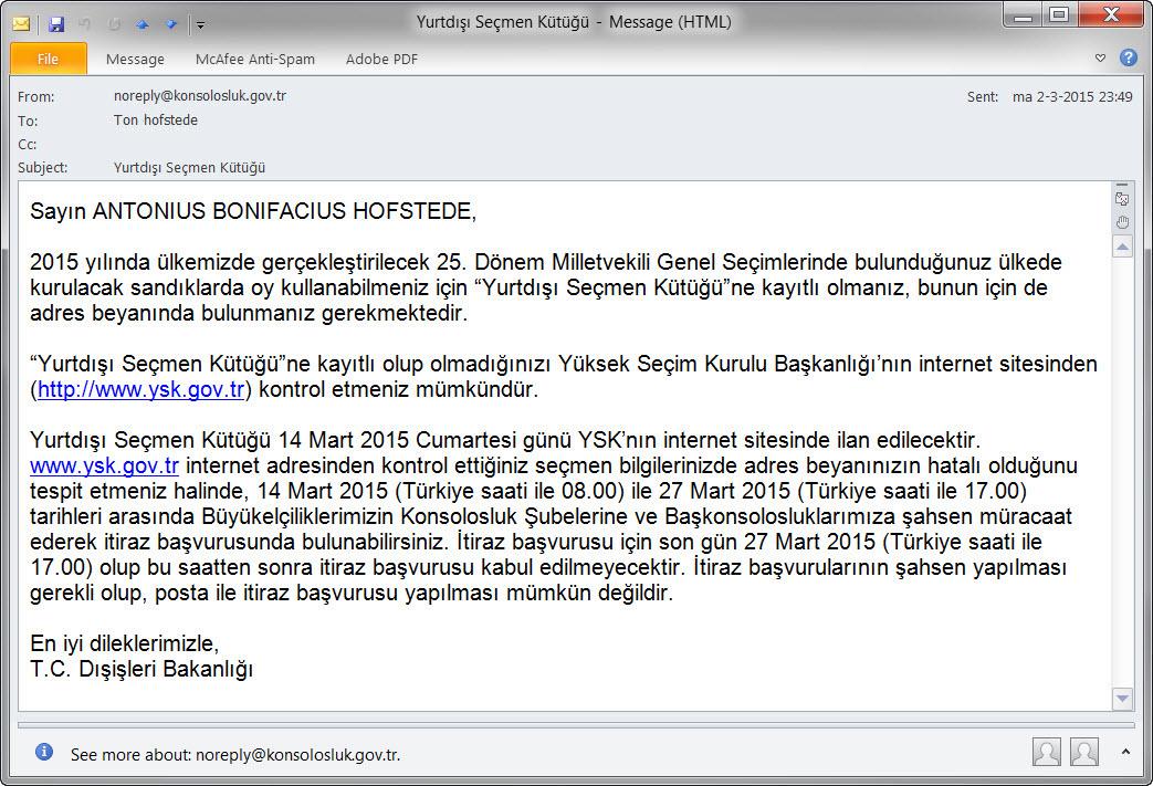 internet in turkije